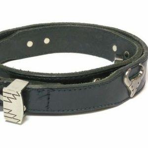 Wilson's Black Leather Belt American Bridle